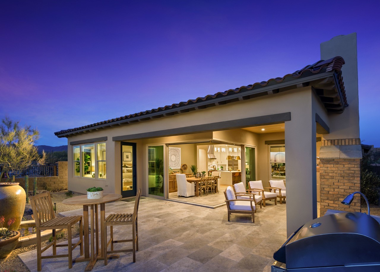 Exteriors keystone homes keystone homes for Building a house in arizona