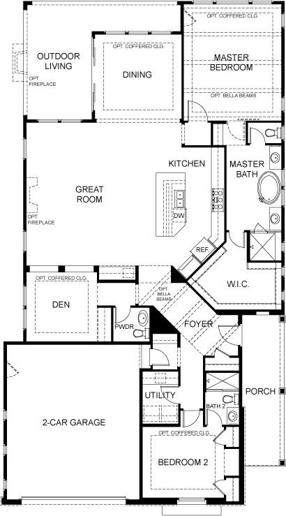 Rowdy keystone homes keystone homes for Keystone house plan